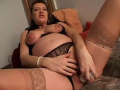German, Pregnant, Mature, German brother fucks sister while sleeping