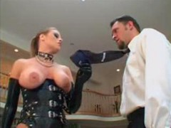 Anal, Latex, Sophia santi with mike adriano anal