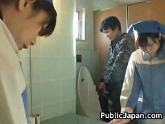 Asian, Oil, Gay toilet urinal spy big dick video