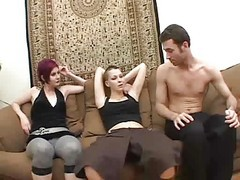 Bisexual, Bisexual threesome dad son mom