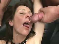 Fisting, Sperm, Mature, Fisting tied up