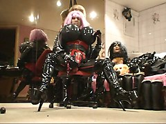 Rubber, Doll, Big Tits, Rubber-passion latex