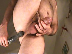 Milk, Prostate, Teen foursome ass riming balllicking prostate massage foot job