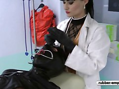 Rubber, Gyno, Slave, Rubber smoking