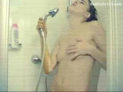 Teen, Shower, Mother helps son in the shower