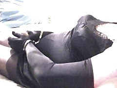 Panties, Gloves, Leather gloves femdom boss