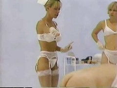 Nurse, Strapon, Pantyhose strapon