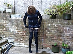 Boots, Lady sonia cuckoldrix in thigh boots