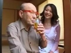 Old Man, Japanese old man trick gangbang
