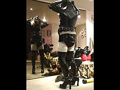 Rubber, Mask, Maid, Rubber transformation