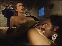 Italian, Orgy, Two italian mature one guy