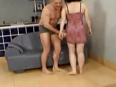 Anal, Granny, Squirt, Very old frail granny sex