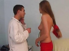 Anal, Doctor, Japanese lady molested by doctor