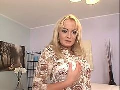 Anal, Blonde, Mature, Mature brunette prostitute alia janine takes it from behind