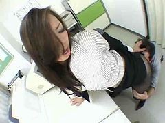 Asian, Panties, Pantyhose, Asian school girl punished by teacher