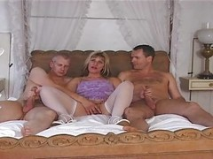 British, Milf, Threesome, Anal threesome