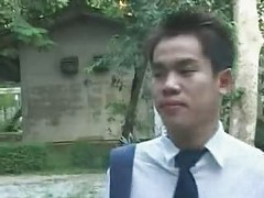 Thai, Student, Student gets milk after school full part