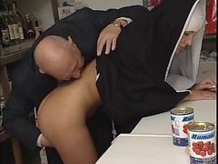 Nun, Old Man, Absoluporn nun