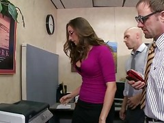 British, Glasses, Office, British wife