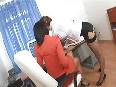 Office, Secretary, Threesome, Office