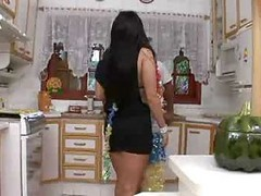 Kitchen, Mom son jodi west kitchen xhamster