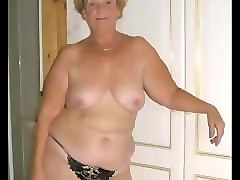 Granny, Hairy, Old granny oral creampie compilation