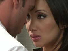 Asian, Office, Saori hara horny asian secretary gets fucked hard in the office