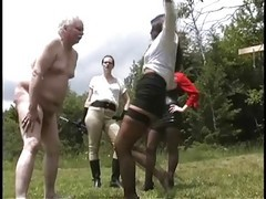 Bdsm, Grandpa, Bdsm pussy torture with vibration