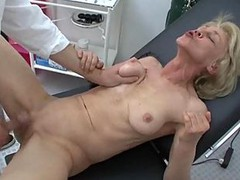 Granny, Doctor, Horny doctors and nurses fucking hard full