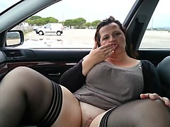 Dogging, Beach, Wife dogging swallow