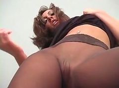 Panties, Pantyhose, No-panty english teacher stacy