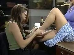 Whore, Lesbian, In room real hidden camera of lesbian sex