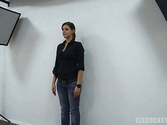 Casting, Czech, Backroom casting couch chloe