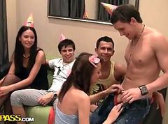 Party, Russian, Student, Student red porn
