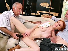 Old Man, Gay straight man fucked for the first time