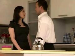 Asian, Housewife, Japanese, Housewife seduced by salesman