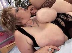 Anal, Fat, German fat gangbang