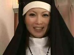 Nun, Hentai nun gets sucked bigcock and fucked by perverted priest