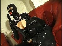 Rubber, Slave, Rubber gloves