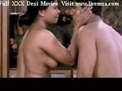 Indian, Maid, Indian desi village aunty pussy eating hard and wet