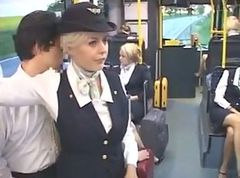 Bus, Stewardess, Stewardess compilation