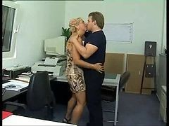 Anal, Office, German, Gay office