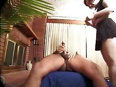Anal, Mature Anal, Big black cock mature anal creampie