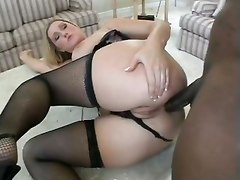 Ass, Big Ass, Husband fucked in ass then wife pussy fucked at the same time