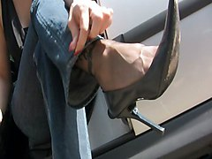 Jeans, Nylon, Ff caning