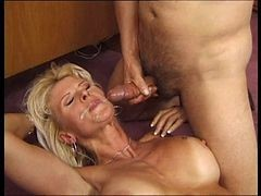 German, German mature creampie compilation