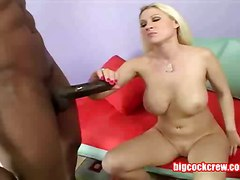 Blonde, Black, Pump, Electricity pumped penis to cumshot