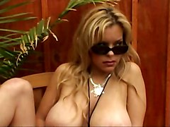 Big Tits, Colombian big tits teen dancing in front on webcam