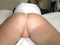 Massage, Ass, Creampie, Husband fucked in ass then wife pussy fucked at the same time