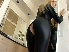 Blonde, Leather, Leather pov